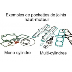 CENTAURO - Kits Joints Haut Moteur Compatible Yamaha  Yz 125 K/L/N1983-85