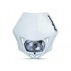 POLISPORT - Plaque Phare Mmx/S2 35W-12V Blanc/Avec Kit Vis