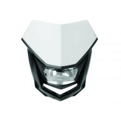 POLISPORT - Plaque Phare Halo/Hs1 35/35W-12V Blanc/Avec Kit Vis