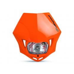 POLISPORT - Plaque Phare Mmx/S2 35W-12V Orange/Avec Kit Vis