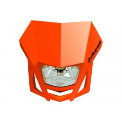 POLISPORT - Plaque Phare Lmx/Hs1 35/35W-12V Orange/Avec Kit Vis