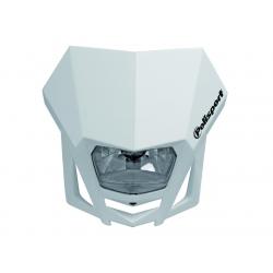 POLISPORT - Plaque Phare Lmx/Hs1 35/35W-12V Blanc/Avec Kit Vis