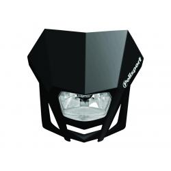 POLISPORT - Plaque Phare Lmx/Hs1 35/35W-12V Noir/Avec Kit Vis