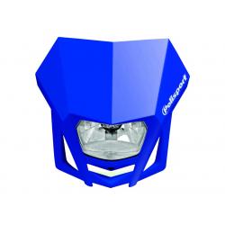 POLISPORT - Plaque Phare Lmx/Hs1 35/35W-12V Bleu/Avec Kit Vis