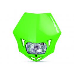 POLISPORT - Plaque Phare Mmx/S2 35W-12V Vert/Avec Kit Vis