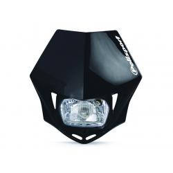 POLISPORT - Plaque Phare Mmx/S2 35W-12V Noir/Avec Kit Vis