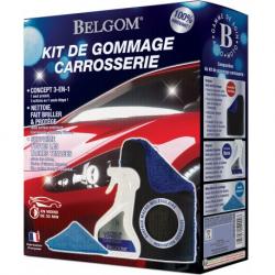BELGOM - Kit de Gommage Carrosserie