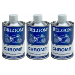 BELGOM - Pack 3 Belgom Chromes