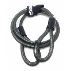 SXP - Câble Antivol Renforcé Boucles L120cm Ø10m