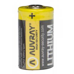 AUVRAY - Pile CR2 3V Pour Bloque Disque Alarme