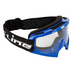S-LINE - Masque Moto Cross ECO Bleu Taille Unique