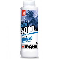 IPONE - Huile Moteur Synthétique - 4T Atv 4000 10W40 1L
