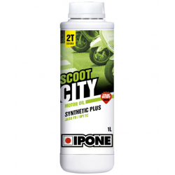 IPONE - Huile Moteur Synthétique Plus 2T Scoot City - Senteur Fraise 1L