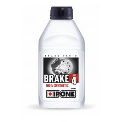 IPONE - Liquide De Frein Et Embrayage Compatible Dot 3 Brake Dot 4 500ml