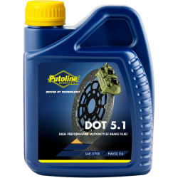 PUTOLINE - Liquide De Frein 5.1 Brake Fluid 500 Ml