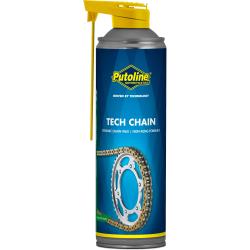 PUTOLINE - Lubrifiant Chaine Tech Chain Aerosol 500 Ml