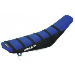 BUD RACING - Housse Selle Full Compatible Yamaha 125 Yz 02-18 Bleu Noir