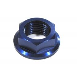 ZAP TECHNIX - Ecrou d'Axe Avant Compatible, CR(F) YZ(F), Bleu