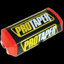 PRO TAPER - Mousse De Guidon Moto - Guidon Sans Barre Ø28mm - Couleur Rouge/Noir