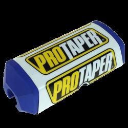 PRO TAPER - Mousse De Guidon Moto - Guidon Sans Barre Ø28mm - Couleur Bleu/Blanc