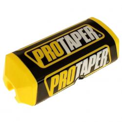 PRO TAPER - Mousse De Guidon Moto - Guidon Sans Barre Ø28mm - Couleur Jaune/Noir