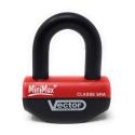 VECTOR - Antivol Moto Bloque Disque Minimax+ Ø16Mm / 47X40Mm - Classe SRA & ART5 - Type U - Avec Cordon De Rappel - Fiable