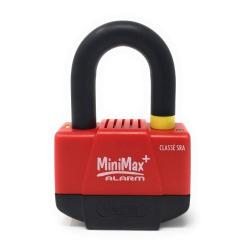 VECTOR - Antivol Moto bloque-disque MINIMAX ALARM+ (Homologué SRA) Ø16mm/55x40mm