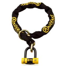 AUVRAY - Kit antivol chaîne+ cadenas/bloque-disque MiniMax+ SRA