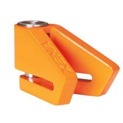 XENA - Antivol Moto Bloque Disque X2 Orange Ø14mm - Classe SRA