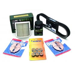 BIHR - Pack Entretien Maxi-Scooter Compatible Piaggio Mp3 400 07-13