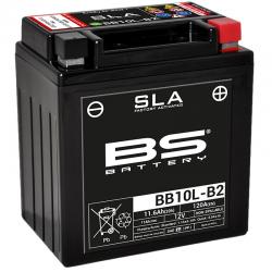 BS BATTERY - Batterie Moto 12V Sans Entretien activée usine Activée Usine BB10L-B2 - 11,6Ah - L90Mm W133Mm H145Mm