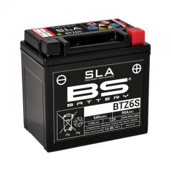 BS BATTERY - Batterie Moto 12V Sans Entretien activée usine BTZ6S SLA - L70Mm W113Mm H105Mm