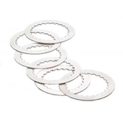 TECNIUM - Kit Disques Lisses Cr250 1997-2003 5 Alu + 2 Acier