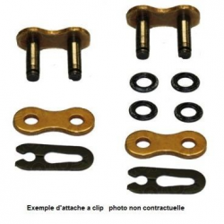 AFAM - Attache Semi-Pressée Type Ars A520Xsr-G Or
