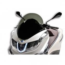 MALOSSI - Bulle Type Sport Fumée Compatible Piaggio 350 X10 12-15 / 500 X10 12-15