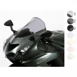 DESTOCKAGE - MRA Bulle Sport Noire Compatible Kawasaki Zzr 1400 2006-2019