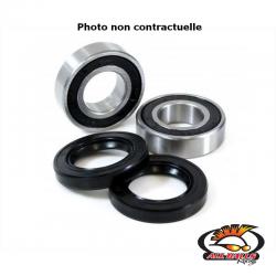 ALL BALLS - Kit Roulements Roue Avant Compatible Honda Xr200R 90-02 Tw200 87-10