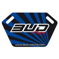 Pit board de panneautage Bud Racing Bleu