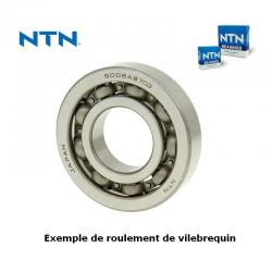 NTN - Roulement Vilebrequin 6204Nr-C3