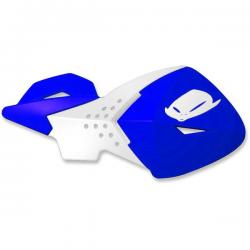 UFO - Protège-Mains Moto Cross Escalade Bleu Blanc