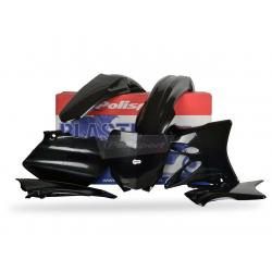 POLISPORT - Kit Plastiques Compatible Yamaha Yz125/250 06-14 Noir