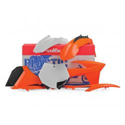 POLISPORT - Kit Plastiques Compatible Ktm 125 250 350 450 Sx/Sx-F 2011 Couleur Origine