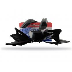 POLISPORT - Kit Plastiques Compatible Suzuki Rm-Z250 10-17 Couleur Noir