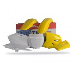 POLISPORT - Kit Plastiques Compatible Suzuki Rm125/250 01-08 Couleur Origine