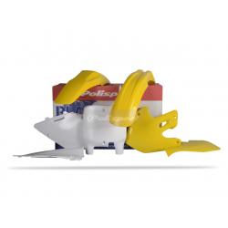POLISPORT - Kit Plastiques Compatible Suzuki Rm125/250 99-00 Couleur Origine