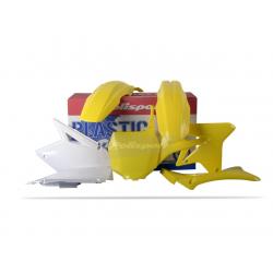 POLISPORT - Kit Plastiques Compatible Suzuki Rm-Z250 07-08 Couleur Origine