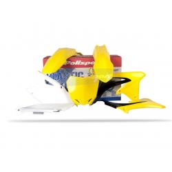 POLISPORT - Kit Plastiques Compatible Suzuki Rm-Z450 09-12 Couleur Origine
