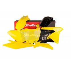 POLISPORT - Kit Plastiques Compatible Suzuki Rm-Z450 14-17 Couleur Origine