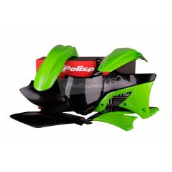 POLISPORT - Kit Plastiques Compatible Kawasaki Kx250F 09-12 Couleur Origine 12