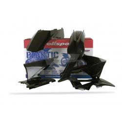 POLISPORT - Kit Plastiques Compatible Gas Gas 125 250 300 Ec 2010 Couleur Origine